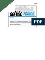 Situacion de La Pequeña Empresa en El Perú