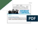 Responsabilidad Social en PYMES