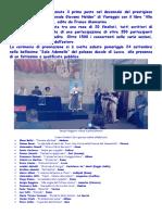 Premiazione Viareggio Lucca