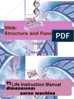 DNA Structure + Function 12-1