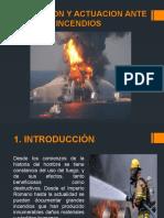 Prevencion y Actuacion Ante Incendios