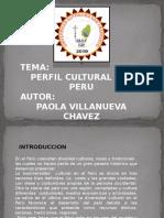 8103 Perfil Cultural Del Peru Paola Villanueva Chavez