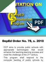 Orientation on DCP