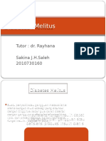 131796690 Diabetes Melitus Presentasi