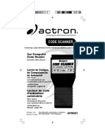 Actron Gm Code Scanner Cp9001