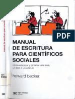 Howard Becker_Abrumado Por La Bibliografía