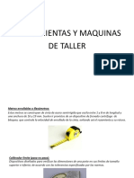 Herramientas y Maq. de Taller