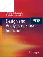 Design and Analysis of Spiral Inductors-Haobijam