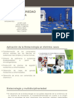 Historia de La Biotecnologia