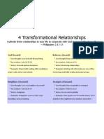4 Transformational Relationships
