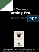Turning Pro - Stephen Pressfield