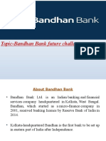 bandhan bank mba ppt