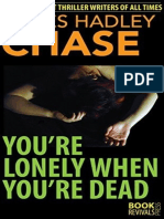 You'Re Lonely When You'Re Dead - James Hadley Chase