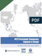 Vietnam APEC Procurement Standards Report En