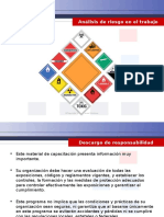 Job Hazard Analysis - Spanish