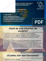 Practica 7, Interfaz grafica