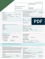 LON Application Form