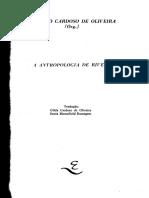 01 OLIVEIRA, Roberto Cardoso de. 1991. a Antropologia de Rivers. Campinas.. Editora Da UNICAMP. Pp. 1-91
