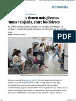 España, Entre Los Líderes