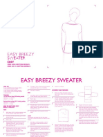 Easy Breezy Sweater Free Pattern ENG 01