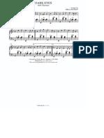 Ochi Chyornye - partitura