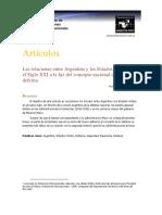 Relaciones entre EE.UU. y Argentina a la luz del Concepto argentino de la Defensa