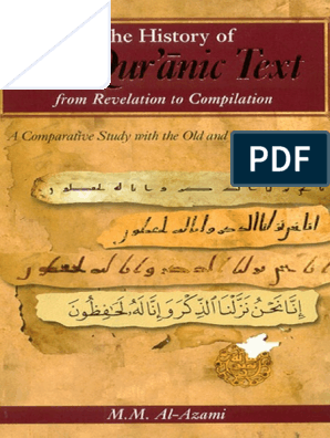 History Of Quranic Text Pdf Quran Islam