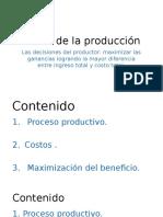 Teoría de la producción-Elizabeth