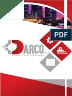 Brochure Darco Ingeniería, Construcción & Gerencia s.a.s