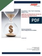 AARP Survey of Baby Boomer and Gen Xer Retirement Preparedness