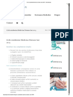 Grile Rezidentiat Medicina Dentara Iasi 2015 - Stomatologie