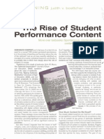 Student Performance Content