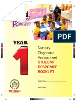 Nursery Diagnostic Assessment Student Response Booklet - Year 1