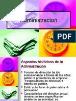 Administracion Funciones y Escuelas Clase 1