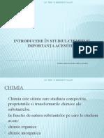 Introducere in Studiul Chimiei Si Importanta Acesteia1