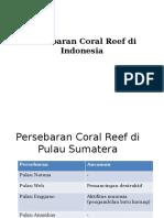 Persebaran Coral Reef Di Indonesia Firna