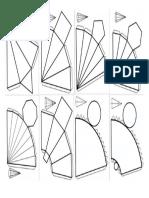 Planificação de Piramides e Cones