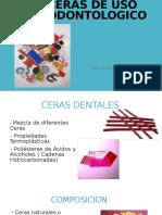 Ceras de Uso Odontologico