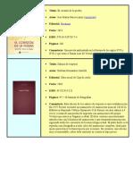 Libros Con Autor, Editorial Ect
