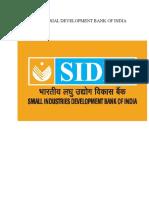 Sidbi Final Report