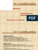 Eje Vi _ El Español Arcaico