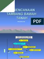 2 Perencanaan Tambang Bawah Tanah