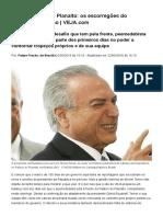 Temer, 10 Dias No Planalto_ Os Escorregões Do Presidente Interino _ Brasil _ Notícias _ VEJA