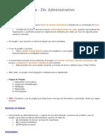 Resumo - Direito Administrativo - Contratos