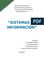 Sistemas de Información. Análisis de casos.