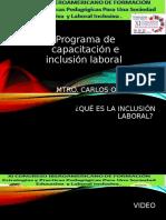 Programa de Capacitación e Inclusión Laboral