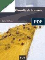 Moya Carlos J - Filosofia De La Mente.pdf