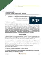 2000 - Circular 58 - Procedimiento de Auditoria