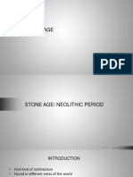 Stone Age Neolithic Architecture and Materials