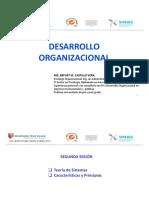 Desarrollo Organizacional 2016 - Segunda Sesión